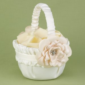 Love Blossoms Flower Basket