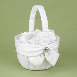 Sparkling Sash Flower Basket
