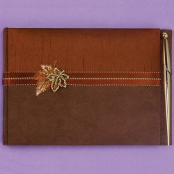 Fall in Love Guest Book and Pen Set
