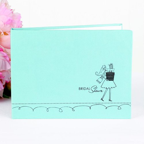 Blue Bridal Gifts Guest Book