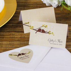 Personalized Love Birds Labels
