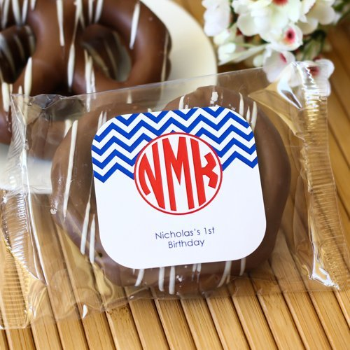 Personalized Birthday Chocolate Covered Pretzel