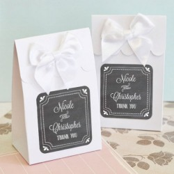 Personalized Wedding Themed Candy Bags