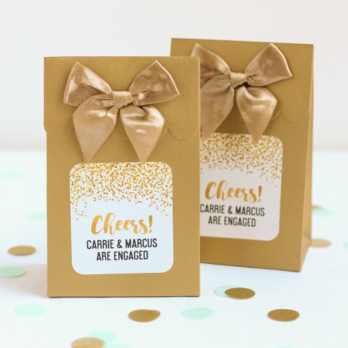Personalized Cheers Candy Bags