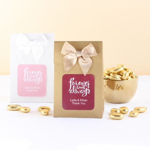 Personalized Forever Always Candy Bags