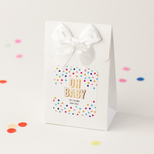Personalized Oh Baby Candy Bag