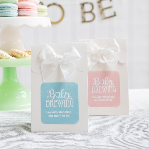 Personalized Baby is Brewing Candy Bags