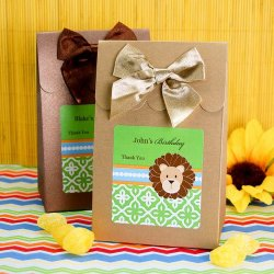Personalized Birthday Themed Candy Bags