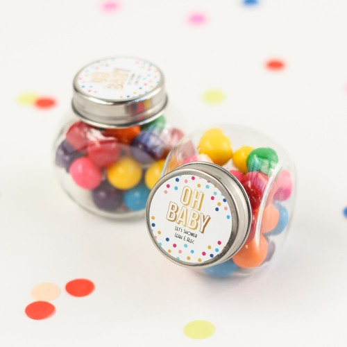 Personalized Oh Baby Candy Jar