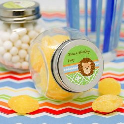 Personalized Birthday Themed Mini Candy Jar