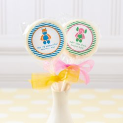 Personalized Baby Shower Themed Lollipop