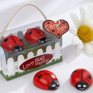 Ladybug Magnets Favor
