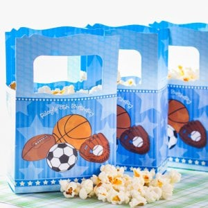 Personalized Kids Birthday Themed Favor Box