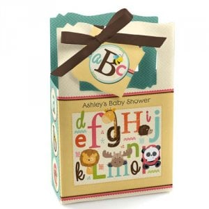 Personalized Baby Shower Themed Favor Box