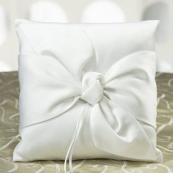 Tie the Knot Ring Pillow