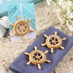 Boat Wheel Magnet Favor