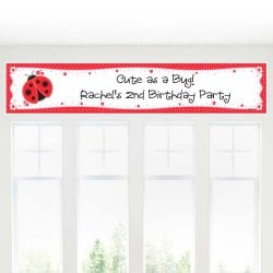 Personalized Kids Birthday Themed Banner