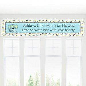 Personalized Baby Shower Themed Banner