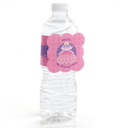 Personalized Kids Birthday Water Bottle Label
