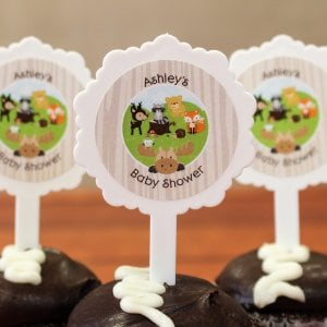 Personalized Baby Shower Cupcake Picks