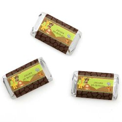 Personalized Kids Birthday Mini Candy Bar Wrapper