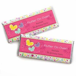Personalized Kids Birthday Candy Bar Wrapper