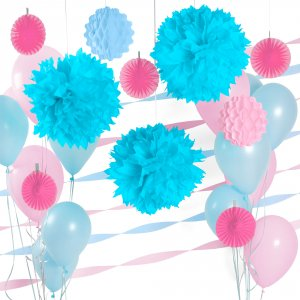 Colored Decor Party Kit