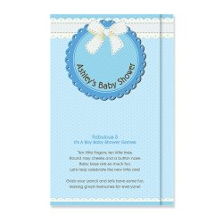 Personalized Baby Shower Games