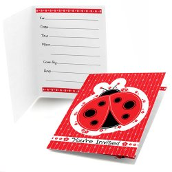 Kids Birthday Fill-In Invitations