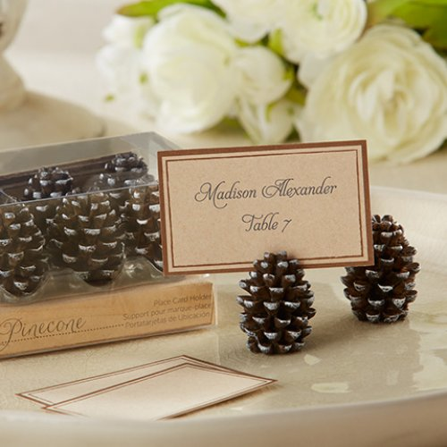 Pinecone Place Card/ Photo Holders