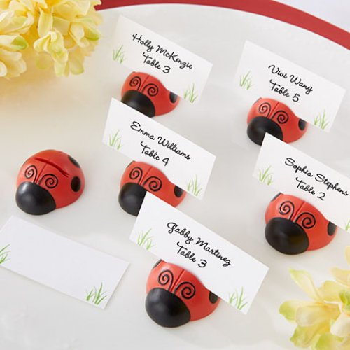 Ladybug Place Card/Photo Holders