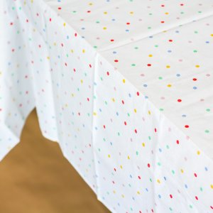 Toot Sweet Spotty Party Tablecloth