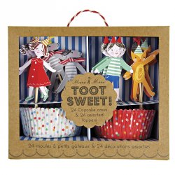 Toot Sweet Party Cupcake Kit