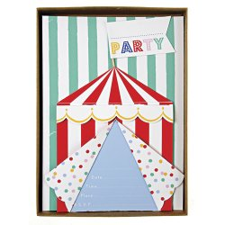 Toot Sweet Spotty Party Invitations