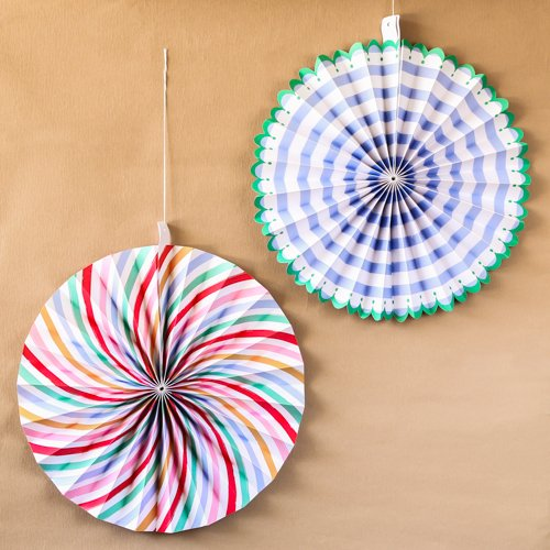 Toot Sweet Party Pinwheel Decorations