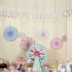 Toot Sweet Spotty Party Garland