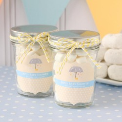 Personalized Baby Shower Mini Mason Jars