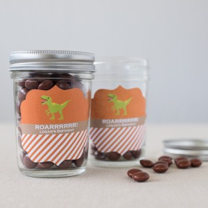 Personalized Birthday Mason Jars