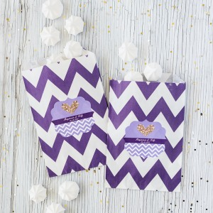 Personalized Bridal Pattern Goodie Bags