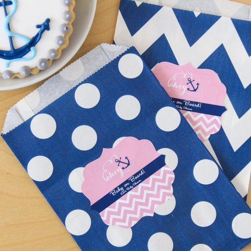 Personalized Baby Pattern Goodie Bags