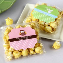 Personalized Baby Shower Caramel Popcorn