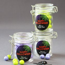 Personalized Halloween Favor Jar