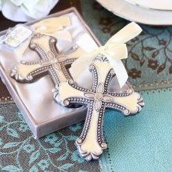 Decorative Cross Ornament Favor