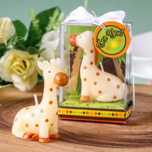 Little Baby Giraffe Candle Favor