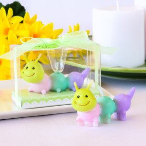 Little Caterpillar Candle Favor