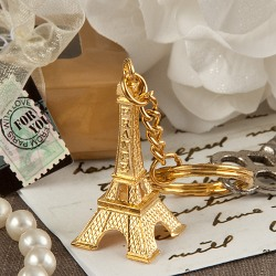 Eiffel Tower Key Chain Favor