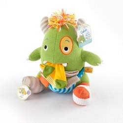 Plush Monster with Socks Gift Set