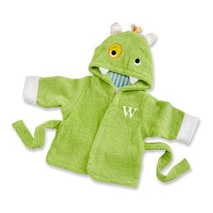"""Little Monster"" Personalized Bath Robe"