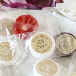Personalized Wedding Life Saver Candies