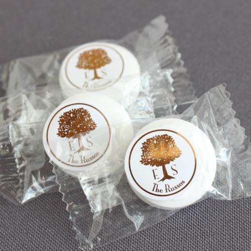 Personalized Wedding Tree Lifesaver Candies
